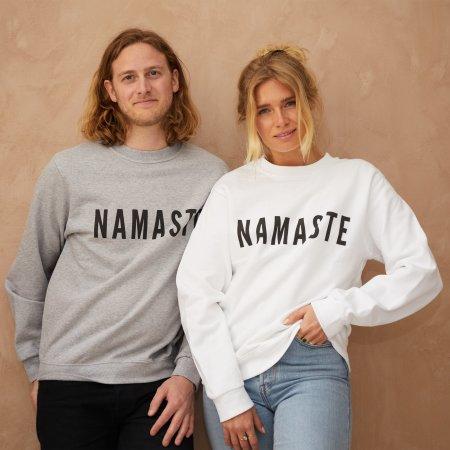 grounded-factory: Namaste yoga sweatshirt