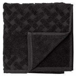 Laurie towel black 100x50 cm.