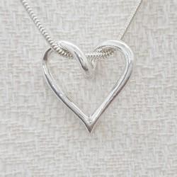 Silverhjärta - lilla