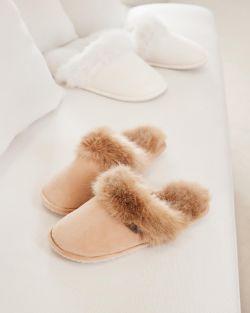 Aspen slippers beige