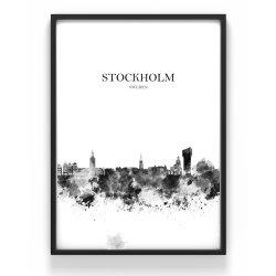 Poster 50x70 Stockholm