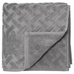Laurie towel dark cement 100x50 cm.