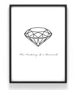 Poster 50x70 Diamant