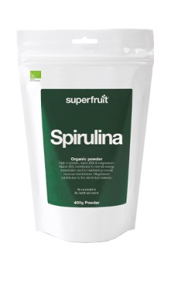 Spirulina Powder 400g - EU Organic