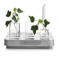 Stumpastaken med vaser
