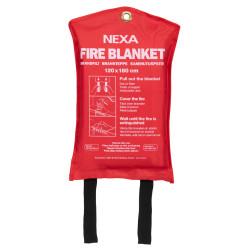 Brandfilt Nexa 120x180 (röd)
