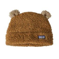 Baby Furry Friends Hat, Beech Brown, 24M Fluffig och mysig mössa.