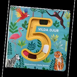 5 vilda djur