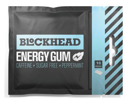 BLOCKHEAD ENERGY CHEWING GUM - Peppermint 10st