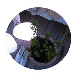 Trädgårdsbelysning Sten lampa liten