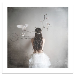 "Photoart ""Magnolia"" 70x70 cm"