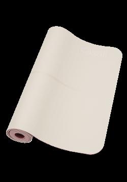 Yoga mat position 4mm – Beige/Pink