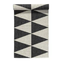 Rime matta svart, 70 x 150 cm
