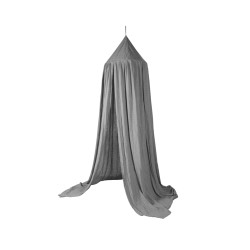 Sänghimmel för barn grå, sebra interiör