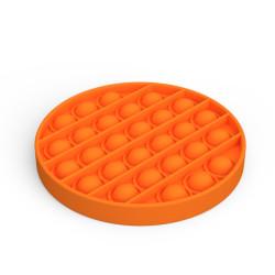 Popit Fidget toy Rund orange