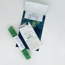 Stora startpaketet för plastbantaren - för osten, maten och för att handla frukt och grönt