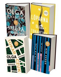 Stora Nobelpaketet Tokarszuk - 4 av hennes största titlar!