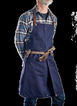 Förkläde i twill med matchande grillvante