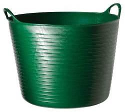 Tubtrug:s Gummikorg 38 liter, Grön
