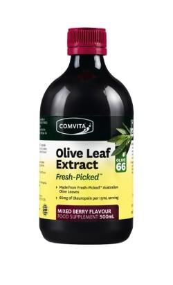 Comvita Olivbladsextrakt Komplex Bärsmak 500 ml