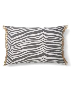 Zebra kudde grå