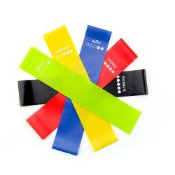 Träningsband- Yogaband 5-Pack