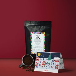 Presentkort på Kaffe - Lyxkaffe direkt i brevlådan - Jul special