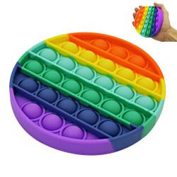 Popit Fidget Rainbow rund