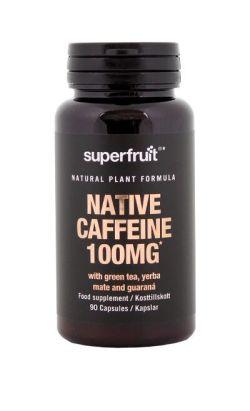 Native Caffeine 100mg 90 veg capsules