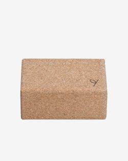 Yoga block cork, large - YOGIRAJ