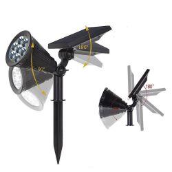 Spotlights 7 led solcellsdriven