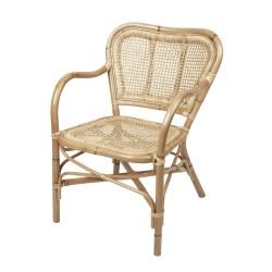 Rottingstol chair ulla naturfärg, broste copenhagen