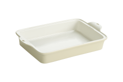 Oyster White Stoneware Baking Dish 23x33cm