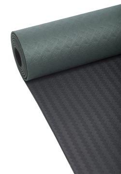 Yoga mat position 4mm – Khaki green/black